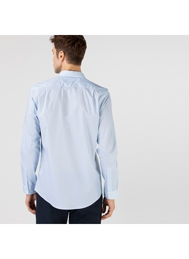 Lacoste Erkek Slim Fit Gömlek CH0151.51M Mavi